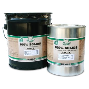Kemiko® 100% Solids Self-Leveling Pigmented Epoxy (SS3500) Kit