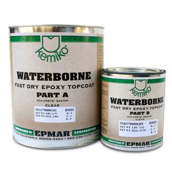 Kemiko® Water Base Quick Dry Epoxy (SS3700) Kit