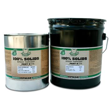 Kemiko® 100% Solids Self-Leveling UV Resistant Epoxy (SS1202 UVR) Kit