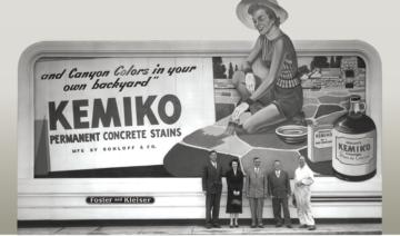 About Kemiko - Retro Kemiko Billboard for Stone Tone Stain