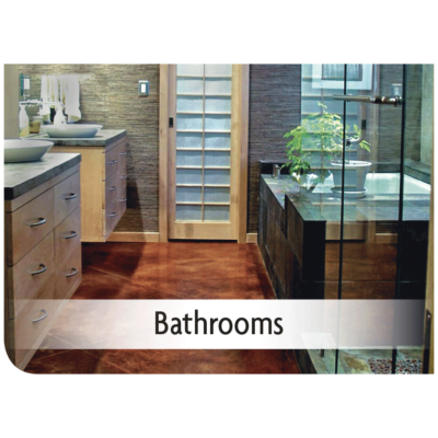 Kemiko Products Application - Bathrooms Example
