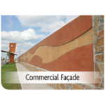 Kemiko Products Application - Commercial Facade Example