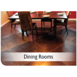 Kemiko Products Application - Dining Rooms Example