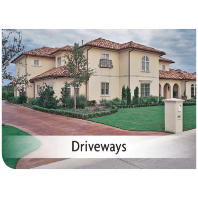 Kemiko Products Application - Driveways Example