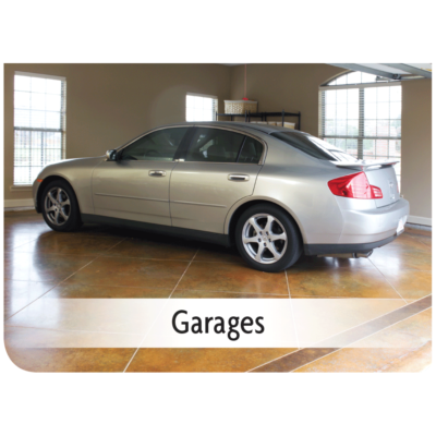 Kemiko Products Application - Garages Example