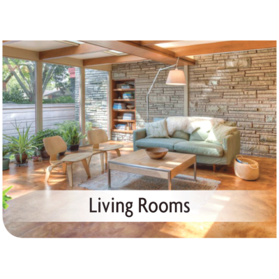 Kemiko Products Application - Living Rooms Example