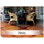 Kemiko Products Application - Patio Example
