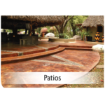 Kemiko Products Application - Patios Example