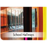 Kemiko Products Application - School Hallways Example