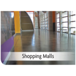 Kemiko Products Application - Shopping Malls Example