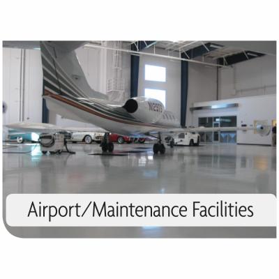 Kemiko Products Application Example - Airport/Maintenance Facilities