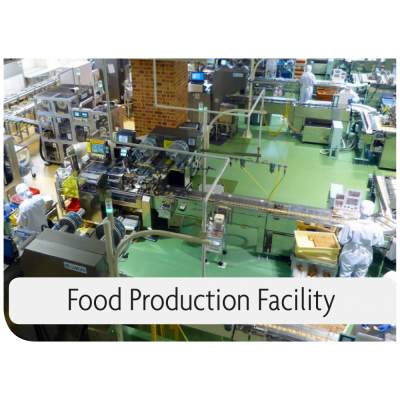 Kemiko Products Application Example - Food Production Facility. Decorative Concrete Made Easy.