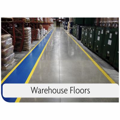 Kemiko Products Application Example - Warehouse Floors