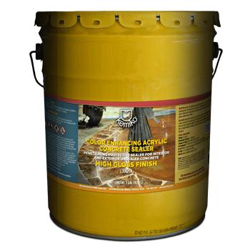 Wet Look Concrete Sealer - Kemiko® Color Enhancing Acrylic