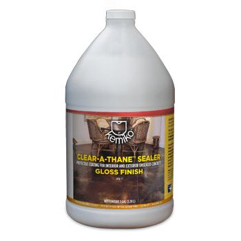 Kemiko Clear-A-Thane Sealer One Gallon Bottle - single component acrylic urethane sealer